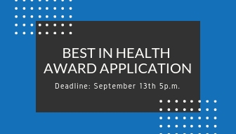 Best In Health AWARD APPLICATION
